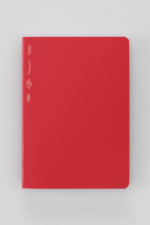 Stálogy 018 365 Days Notebook [B6] Röd