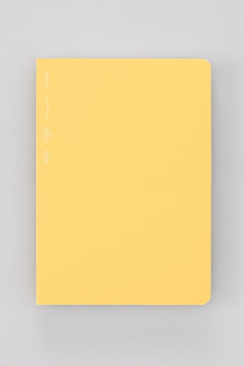 Stálogy 018 365 Days Notebook [B6] Gul