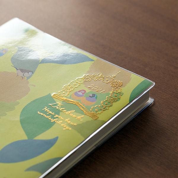 Midori MD 2021 Pocket Diary B6 Bird