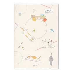 Midori MD 2021 Pocket Diary B6 Cat