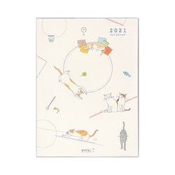 Midori MD 2021 Pocket Diary A6 Cat