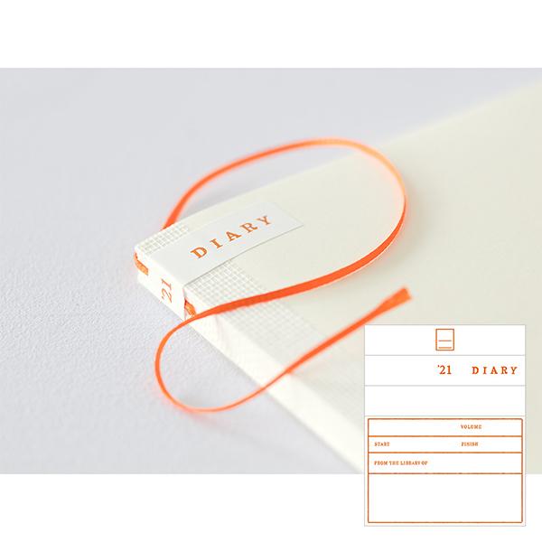 Midori MD Notebook Diary A6 2021