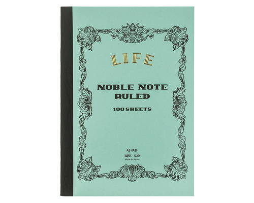 LIFE Noble Notebook A5 Linjerad