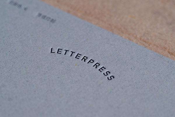 Midori Letterpress Card Cherry
