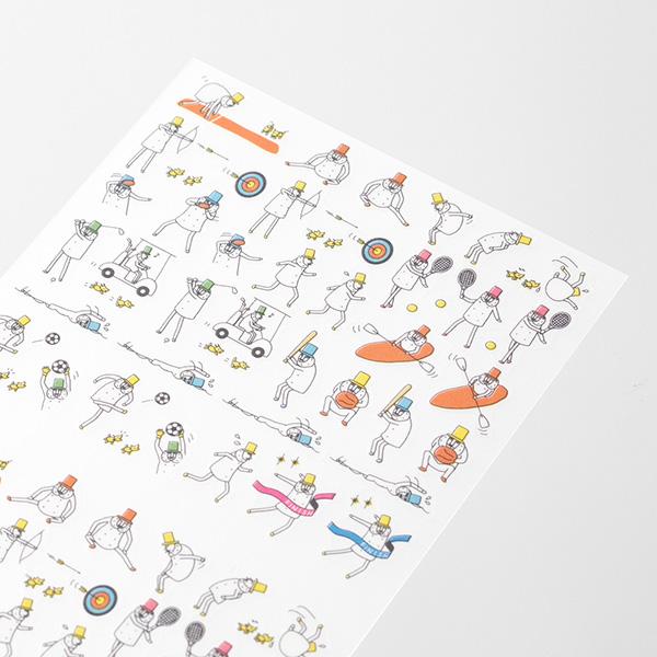 Midori Sticker Collection Schedule Ojisan
