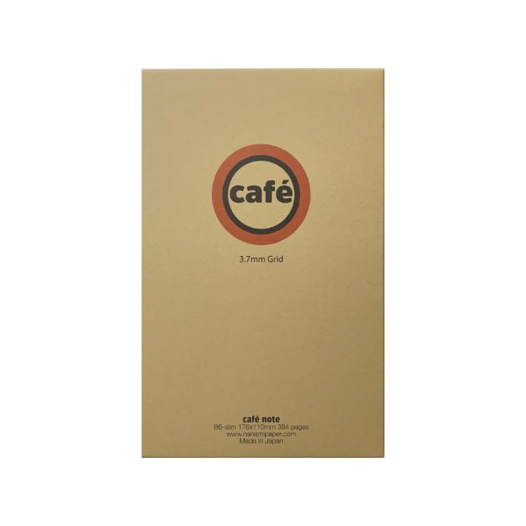 Nanami Cafe Note B6 Slim Rutad (Tomoe River)