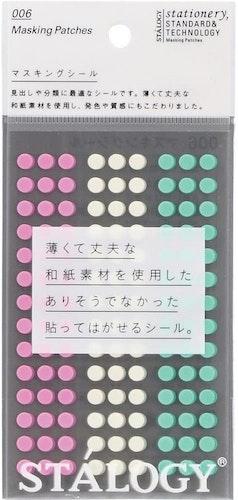 Stálogy 006 Masking Patches, Shuffle Ice Cream
