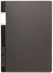 Stálogy 016 Vintage Notebook [B5] Svart