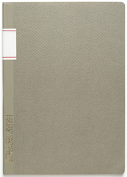 Stálogy 016 Vintage Notebook [B5] Grå