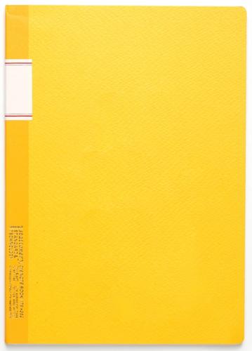 Stálogy 016 Vintage Notebook [B5] Gul