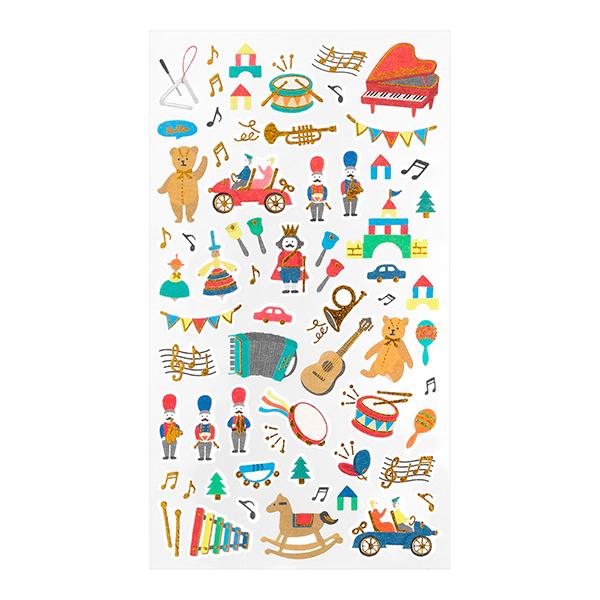 Midori Sticker Marché Toys