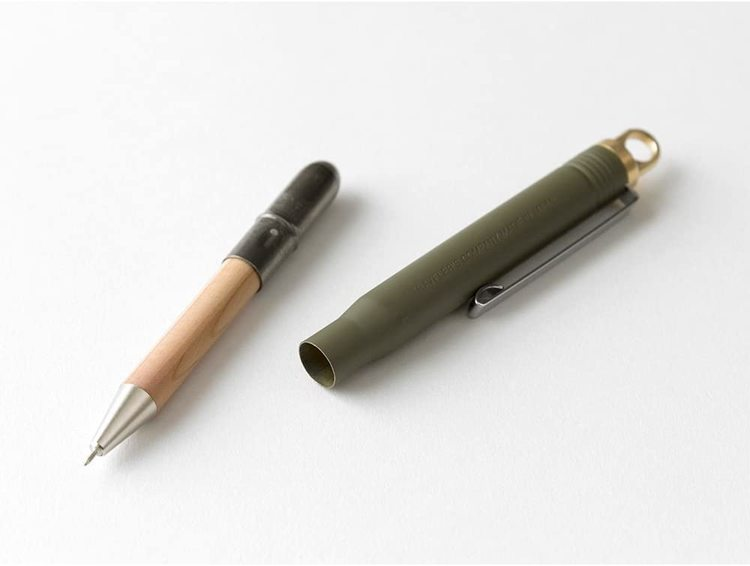 Traveler's Company LIMITED Olive Edition Brass Ballpoint Pen