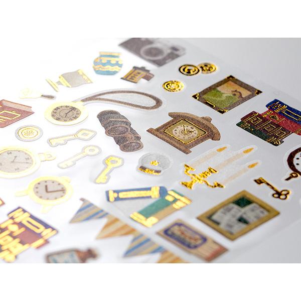 Midori Sticker Marché Antique