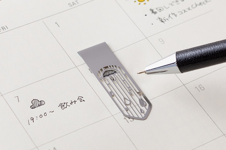 Midori Clip Bookmarker Weather