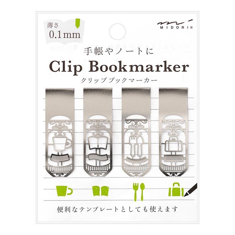 Midori Clip Bookmarker Life