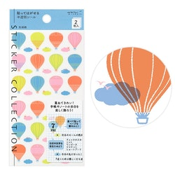 Midori Sticker Collection Schedule Balloon