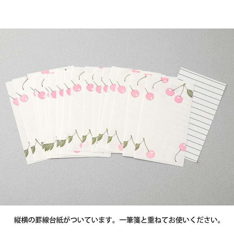 Midori One Stroke Letterpress Cherry
