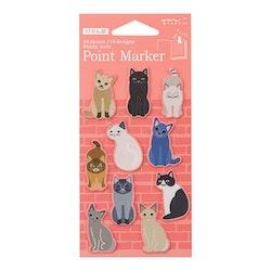 Midori Point Marker Cats