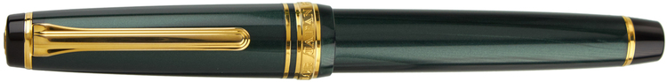Sailor Professional Gear Slim (Sapporo) Shiki-Oriori / Four Seasons – Metallic Green