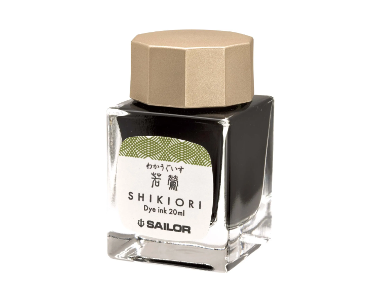 Sailor Shikiori Waka-Uguisu Ink 20 ml