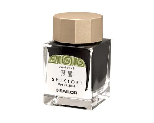 Sailor Shikiori Waka-Uguisu Ink 20 ml