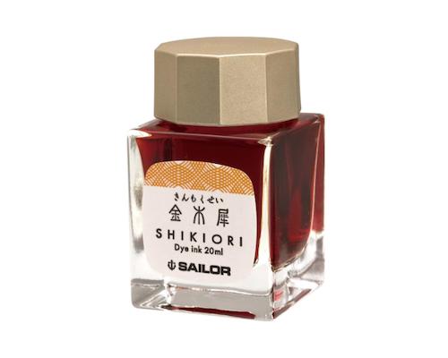 Sailor Shikiori Kin-Mokusei Ink 20 ml