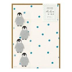 Midori Letter Set Penguin