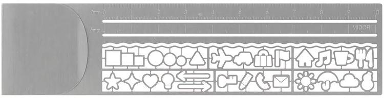 Midori Clip Ruler