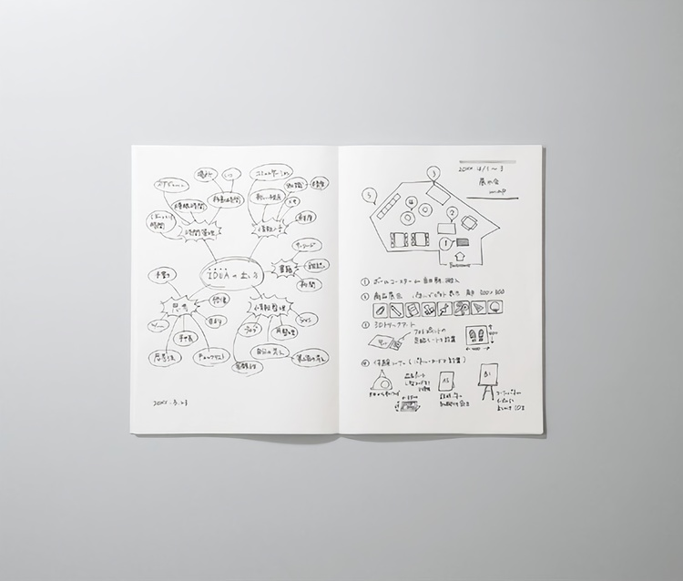 Kokuyo Campus Business Notebook B5 Blank Grå