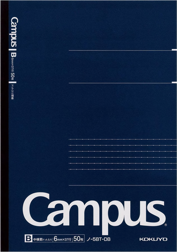 Kokuyo Campus Business Notebook B5 Dotted Lined Blå
