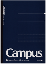 Kokuyo Campus Business Notebook A4 Dotted Lined Blå