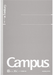 Kokuyo Campus Business Notebook A5 Blank Grå