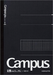 Kokuyo Campus Business Notebook B5 Rutad Svart