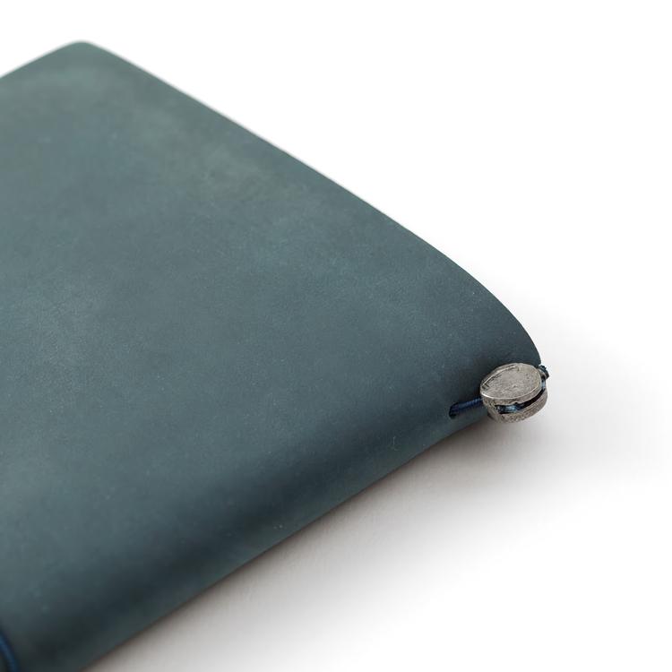Traveler's Company Traveler's notebook – Blue, Regular size (Starter Kit)