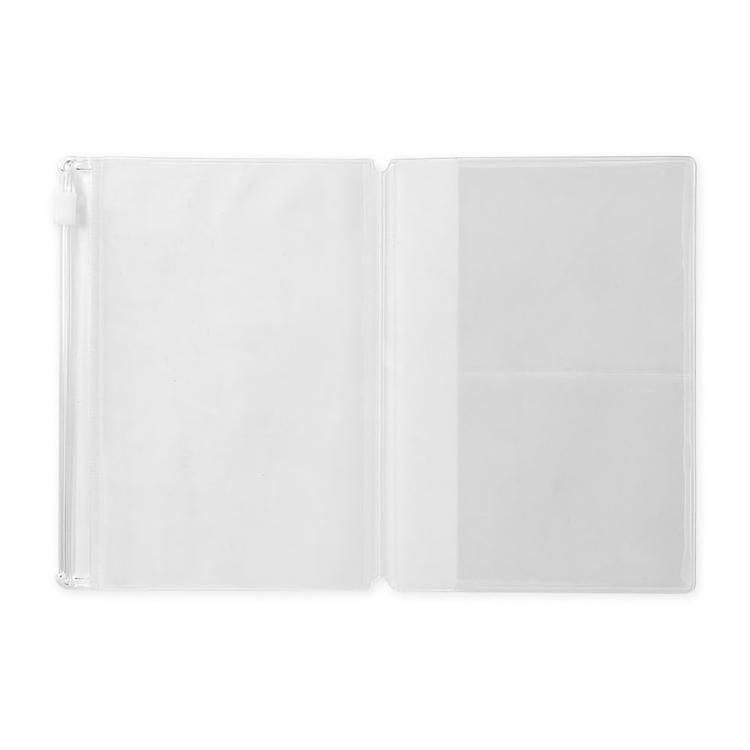 Traveler's Company Traveler's notebook - 004 Zipper Case, Passport Size