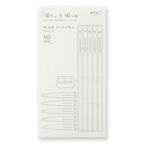 Midori MD Pencil Drawing Kit
