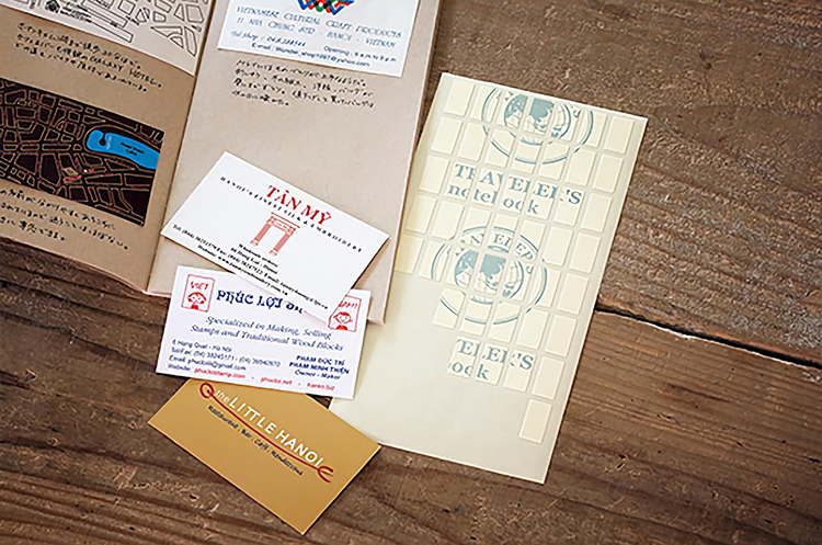 Traveler's Company Traveler's notebook - 010 Double Sided Stickers