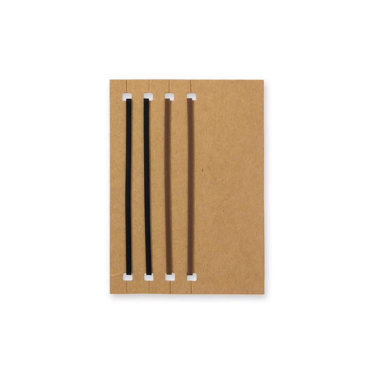 Traveler's Company Traveler's notebook - 011 Connecting Rubber Band, Passport Size