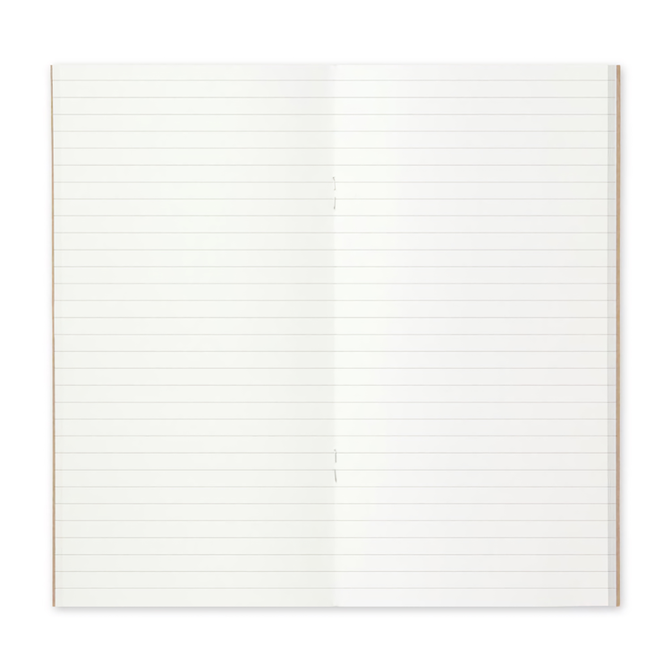 Traveler's Company Traveler's notebook - 001 Lined Notebook, Regular Size