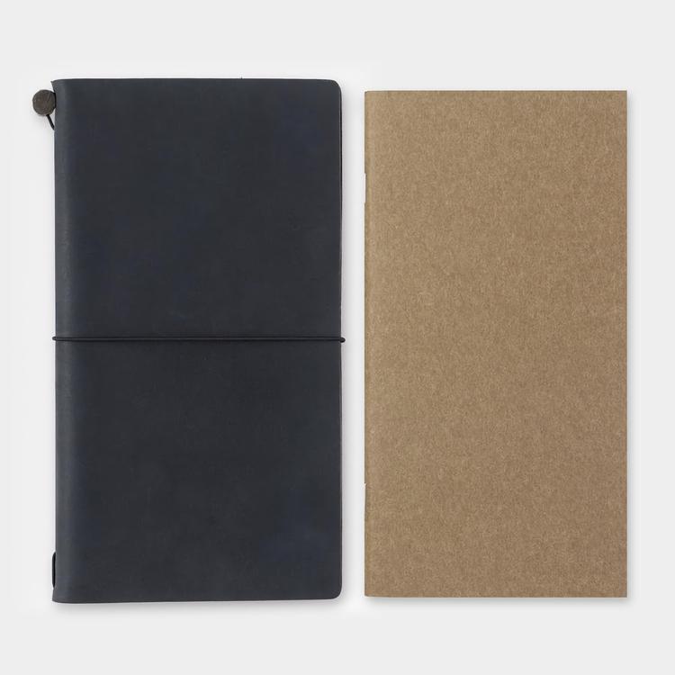 Traveler's Company Traveler's notebook - 002 Grid Notebook, Regular Size