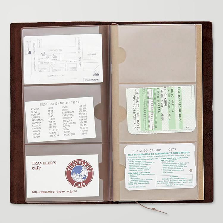 Traveler's Company Traveler's notebook - 007 Card File, Regular Size