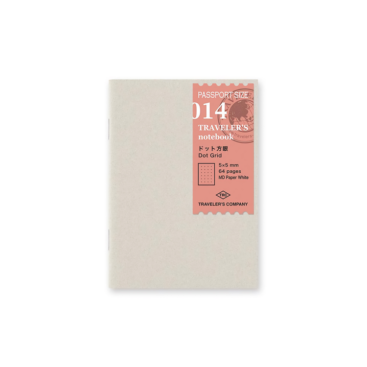 Traveler's Company Traveler's notebook - 014 Dot Grid, Passport Size