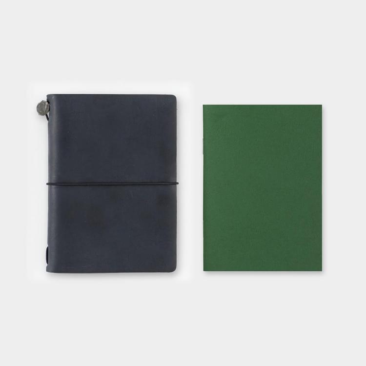 Traveler's Company Traveler's notebook - 002 Grid Notebook, Passport Size