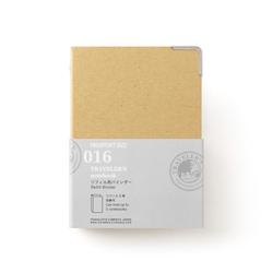 Traveler's Company Traveler's notebook - 016 Refill Binder, Passport Size