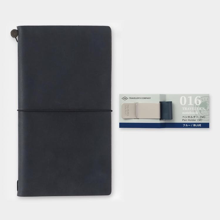 Traveler's Company Traveler's notebook - 016 Pen Holder (M) Blue
