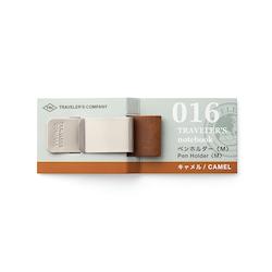 Traveler's Company Traveler's notebook - 016 Pen Holder (M) Camel
