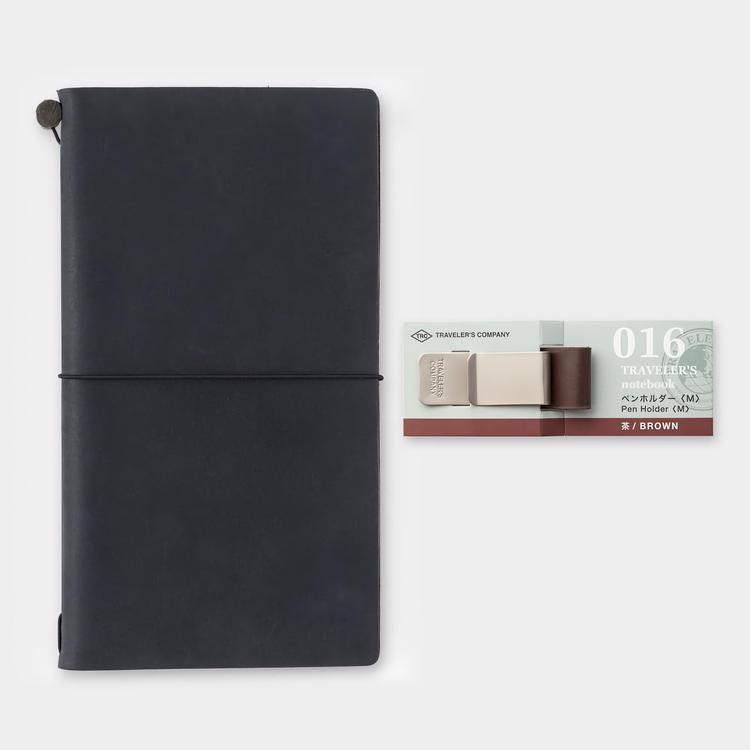 Traveler's Company Traveler's notebook - 016 Pen Holder (M) Brown