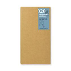 Traveler's Company Traveler's notebook - 020 Kraft Paper Folder, Regular Size