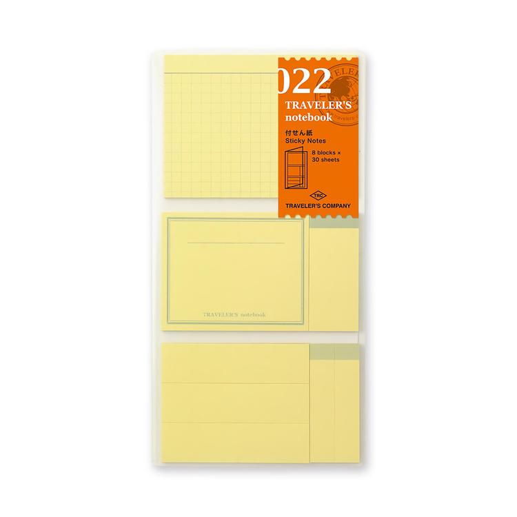 Traveler's Company Traveler's notebook - 022 Sticky Notes