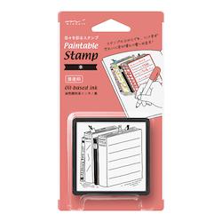 Paintable Stamp Pre-inked Book